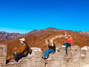 Beijing airport to Mutianyu Great Wall and Forbidden City & Tiananmen Square tours
